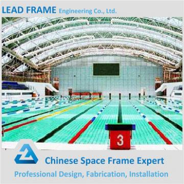 long span space frame structure system swimming pool