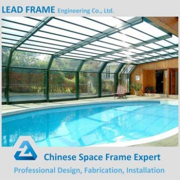 Steel swimming pool canopy made in China