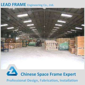 Steel Frame Metal Building With Roofing System Cover