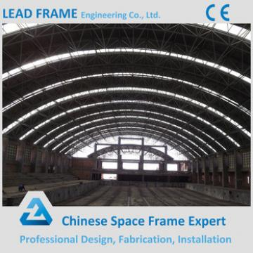 Prefabricated space frame swimming pool