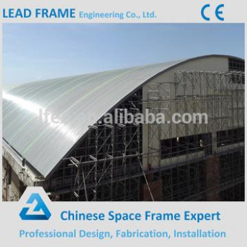 Fiberglass swimming pool truss canopy design