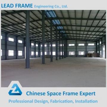 long span light steel structure workshop construction