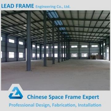 long span prefabricated iron structure building workshop