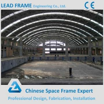 Bule Color Steel Roof Trusses Prices Swimming Pool Roof