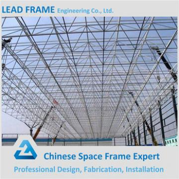 Prefabricated steel roof truss design for workshop
