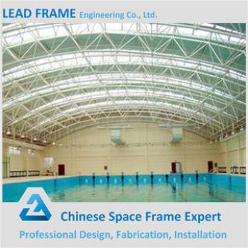 China Prefab High Quality Low Cost Steel Roof Pool Cover