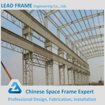 classic and typical design steel structure space frame for workshop