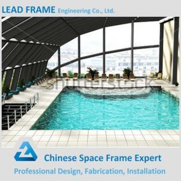 easy quick installation prefabricated canopy roof of swimming pool