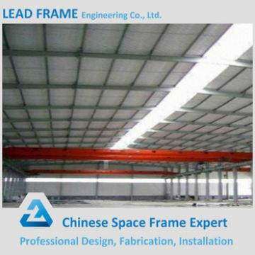 prefabricated steel structure warehouse building for industrial using