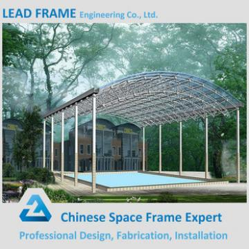Prefab Large Clear Sunlight Outdoor Canopy For Pool