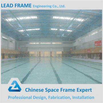 Steel Structure Clear Glass Pool Cover