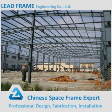 Prefabricated steel structure workshop shed hangar