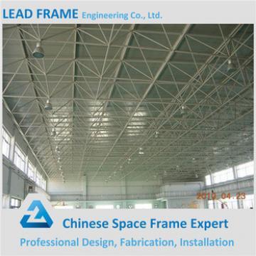 Pre-engineering galvanized steel vaulted roof