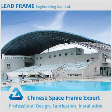 Clear Skylight Dome Metal Roofing Truss Indoor Pool