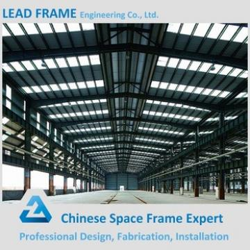 Low Cost Prefab Steel Frame Structure For Steel Workshop