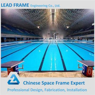 Transparent High Rise Glass Roof System Pool Frame