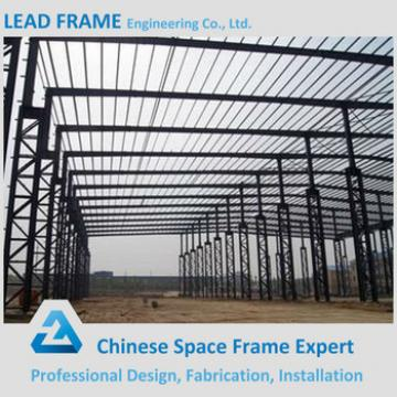 Long span steel structure industrial shed designs