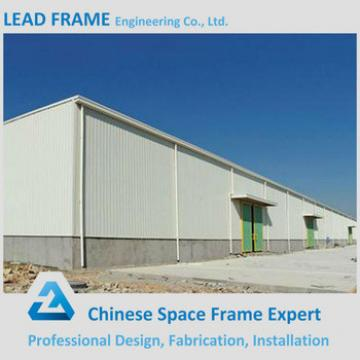 Corrugated steel space frame workshop building for sale