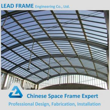Steel Metal Buildings Warehouse Curved Roof Design Structural Steel Shed