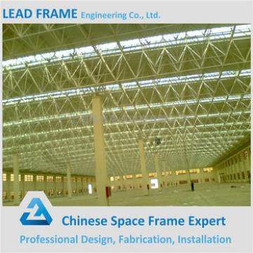 Strong Wind Resistant Space Frame Prefabricated Steel Building