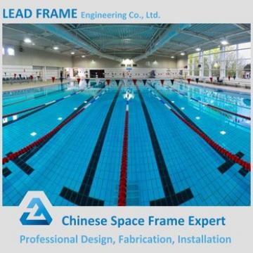 high standard prefabricated canopy roof of swimming pool