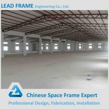 Pre Engineered Light Frame Galvanized Prefabricated Industrial Shed
