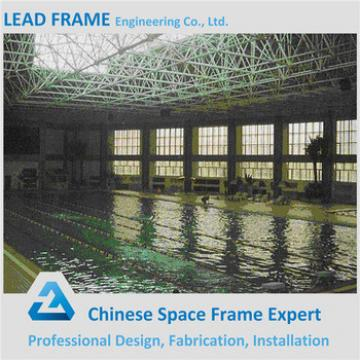 Steel frames metal swimming pool roof