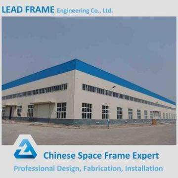 Steel Frame Light Weight High Standard Prefabricated Industrial Shed
