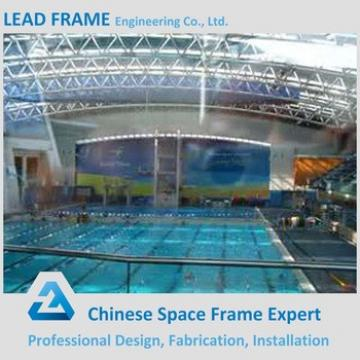 professional steel structure building free design swimming pool roof