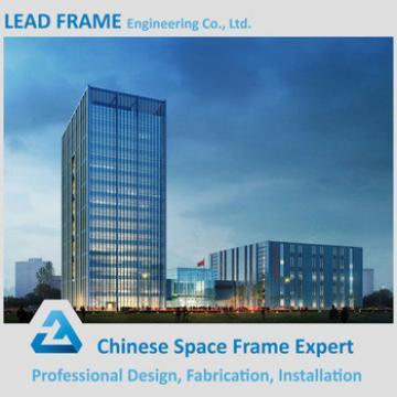 Professional Light Steel Prefab Glass Curtain Wall