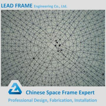Economic steel structure dome space frame for coal shed