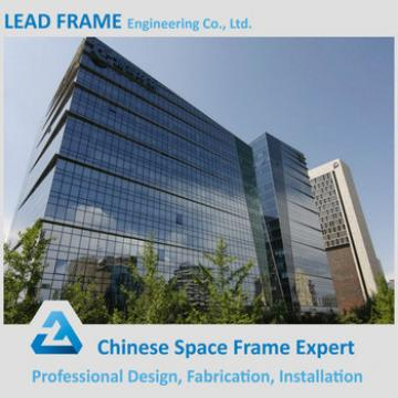 2017 ISO Certificate Low Cost Good Design Glass Steel Structure Building