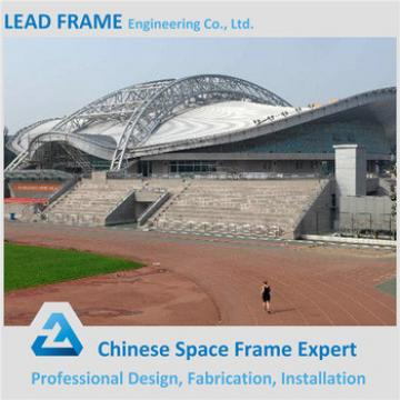 Prefabricated light steel frame structure for sports hall