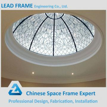 Pre-engineering Windproof Large Span Steel Structure Space Frame Skylight Dome