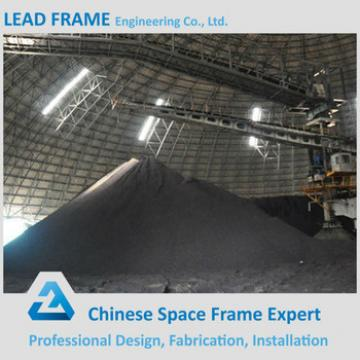 Prefabricated Galvanized Light Steel Coal Yard Shed Roof Truss Systems