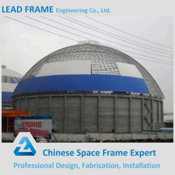 Lightweight steel space frame structures construction for coal-fired power plant
