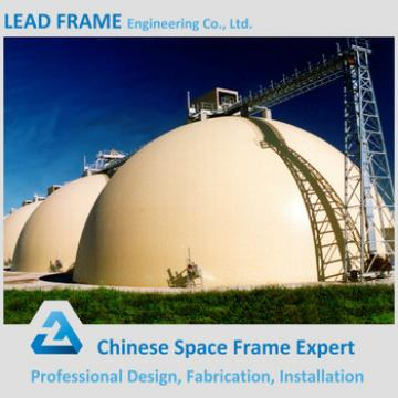 Customized steel dome structure for power plant coal shed
