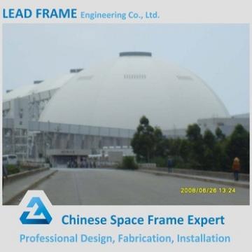 Prefabricated steel coal storage yard building