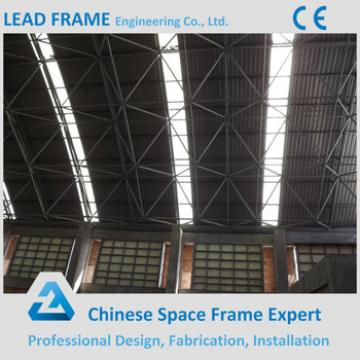 Barrel Shape Steel Roof Trusses Prices Swimming Pool Roof