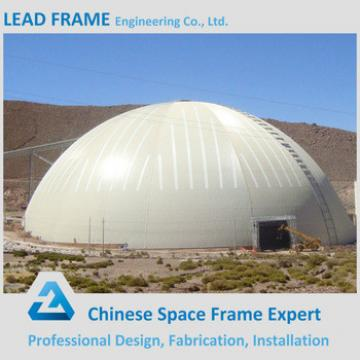 Steel Structure Dome Sheds With Roofing Cover