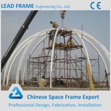 China manufacturer Steel Structure Prefabricate building glass dome