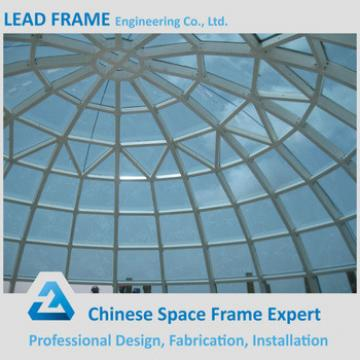 Long Span Cost-effective Steel Structure Building Glass Dome
