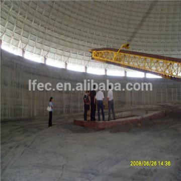 Aesthetic Large Span Space Frame Coal Storage bin