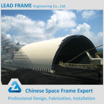 Prefabricated Galvanized Tube Space Frame With Steel Roof Cover