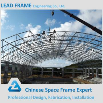 Economical space frame structure swimming pool roof cover