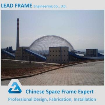 Outdoor Light Gauge Space Grid Steel Storage Shed for Sale