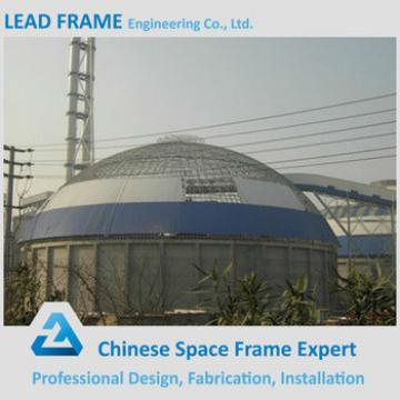 Light gauge steel frame structure dome storage building