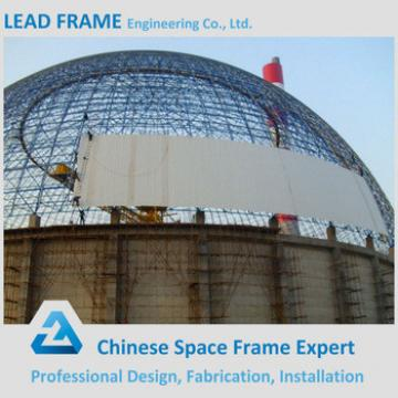 Light Steel Space Frame Construction Limestone Dome Storage