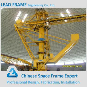 Advanced Structural Storage Shed For Bulk Material