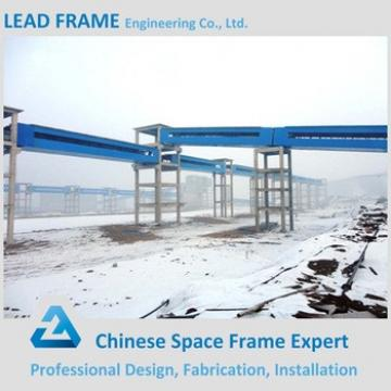 Long Span Coal Belt Conveyor System With Steel Trestle
